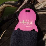Little Monster Towel Holder and towel